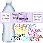 98 Personalized Wedding or Anniversary Water Bottle Labels Waterproof