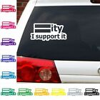 Equality I support it decal LGBT straight gay lesbian ally sticker equal