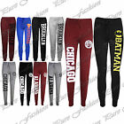 New Womens Brooklyn Gym Ladies Full Lenght Running Joggers Trousers Jog Buttoms
