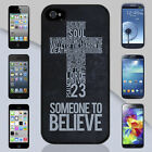 New Psalm 23 Jesus Cross Verse Apple iPhone & Samsung Galaxy Case Cover