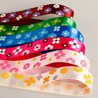 Neotrims Pretty Flower Cheap Satin Ribbon By The Yard For Craft,Card Making,Cake