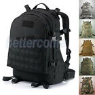 AU Outdoor Military Tactical Rucksacks Backpack Camping Hiking Trekking Bag