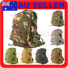 40L Army Military 3 Day Bag Backpack Rucksack Camouflage Hiking Camping Camo 3D