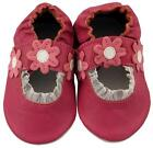 NEW MINIFEET SOFT LEATHER BABY SHOES 0-6, 6-12, 12-18,18-24 MTH DARK PINK SANDAL