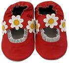 NEW MINIFEET SOFT LEATHER BABY SHOES 0-6, 6-12, 12-18, 18-24 MTH RUBY RED SANDAL