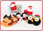 MAGIC MOVERS ANIMATED CHRISTMAS KIDS SLIPPERS XMAS BOYS GIRLS GIFTS SOFT COZY