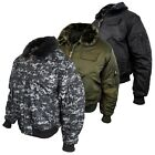 Mens Location MA2 Pilot Military Army Flight Bomber Jacket Authentic Combat Coat