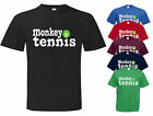 Alan Partridge MONKEY TENNIS Cult DVD TV film Tribute T Shirt. Choice of size