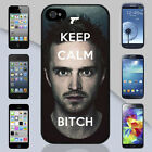 Keep Calm Bitch Breaking Bad Aaron Paul Apple iPhone & Samsung Galaxy Case Cover