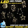 LED Christmas Battery Light Hanging Decoration Xmas Tree Window Party Multicolor