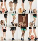 Valentines Sexy Womens Tattoo Pattern Sheer Pantyhose Tights Stockings Leggings