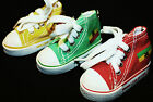 MINI SHOE TRAINER SNEAKER BAG KEY RING LION OF THE JUDAH CHARMS RASTA