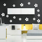 Daisy Flowers X18 - Wall Art Sticker`s Decals - Car + Craft + Window + Laptop