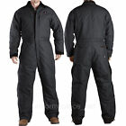 Dickies Insulated Coveralls LONG SLEEVE Sanded Duck Coverall TV245 Black Brown