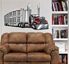 Kenworth Big Rig Livestock Truck WALL GRAPHIC DECAL #92015 MAN CAVE GARAGE MURAL