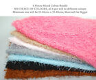 Luxury Soft Shaggy Plush Soft Snarl Loops Pile Texture Jersey Fabric 12 colours