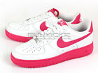 Nike Air Force 1 Sports Casual Classic Sneakers AF1 White/Vivid Pink 488298-138