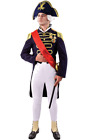 Orion Costumes Mens Admiral Lord Nelson Navy Sailor Uniform Fancy Dress Costume