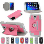 Samsung Galaxy S4 Case Pu Leather Stand With 360 Rotate For S IV I9500 9505