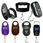 LCD Digital Portable Electronic Travel Suitcase Luggage Hook Weighing Scale