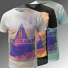New Mens Soul Star T-shirt Branded S M L XL Top Triangle Ibiza VIBES White Blue