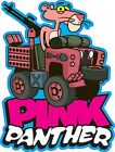 ROVING LANDS CARTOON TEE SHIRT LAND ROVER SERIES 2 PINK PANTHER SAS DUNSFOLD