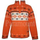 Regatta Dare 2b Knitted Orange Jumper  Mens Size