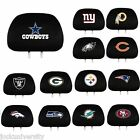 NFL Teams -  2 Pack Auto Car Truck Headrest Covers