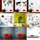 LIFE Letter Words Room Mural Wall Art Sticker Decal Home Decor PVC Removable B5U