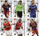 PANINI UEFA PREMIUM CHAMPIONS LEAGUE CARDS 2010 - 2011 BRAND NEW IN TOP LOADERS