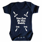 YOU CAN DO THIS DADDY FUNNY BABY GROW - BABY GROW - BABY WEAR - PERFECT GIFT
