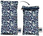 Planet Wise No-Leak Travel Cloth Baby Wipe or Adult Toiletry Pouch  - 868804