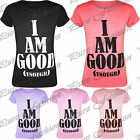Ladies Casual I Am Good Enough Slogan Printed Womens Short Sleeves T Shirt Top