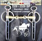 Liverpool Bit Lozenge Carriage Driving All Sizes Style D29