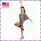 SGD12ap Stylish Women's Ballroom Latin Rhythm Salsa Swing Dance Costume Dress