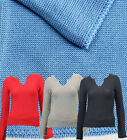 SALE LADIES JUMPER LONG SLEEVE KNIT WOMENS SIZE 8 - 12 LONG COTTON