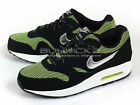 Nike Air Max 1 LE (GS) Running 2014 Black/Metallic Silver-Volt-White 631747-001