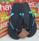Havaianas Brazil LOGO Top tred black blue Flip Flops mens womens Thongs Sandals