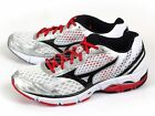 Mizuno Wave Connect Breathable Smooth Ride Running White/Black/Red J1GC144810