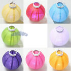 Paper Lantern Led Light Hanging Wedding Party Chinese Decor Outdoor/Indoor 8''