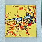 New completed finished needlepoint Embroidery-Wintersweet Plum&birds-soft framed
