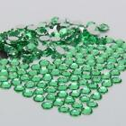light green sparkling Resin Rhinestone Flatback Crystal 2/3/4/5/6MM 14 Facets