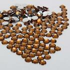 coffee color sparkling Resin Rhinestone Flatback Crystal 2/3/4/5/6MM 14 Facets