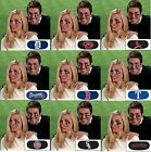 MLB Baseball Team Logo 6 Pack Eye Black Strips Vinyl Face Decorations Stickers on Ebay