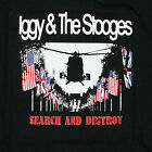 IGGY AND THE STOOGES CAMISETA IGGY POP BÚSQUEDA Y DESTROY DIVERTIDO HOUSE VTG