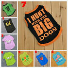Hot Cute Summer Various Pet Puppy Small Dog Cat Pet Clothes Vest T Shirt Apparel
