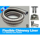 Chimney Liner Tee Kit 316ti Stainless Steel - Gas, Oil, Wood Stove