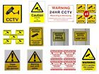 Warning CCTV Camera - Security Camera - Stickers Signs Decals - CCTV Recording