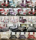 New Duvet Quilt Cover Bedding Sets With Pillowcase Single,Double,King,Super King