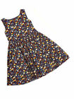 Next Baby Girls Ditsy Blue Floral Print Lined Netted Party Dress Ages 9-24mths